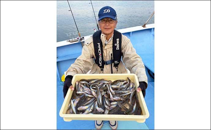 【愛知】沖のエサ釣り最新釣果 沖釣り入門に最適な「ウタセ五目」好調