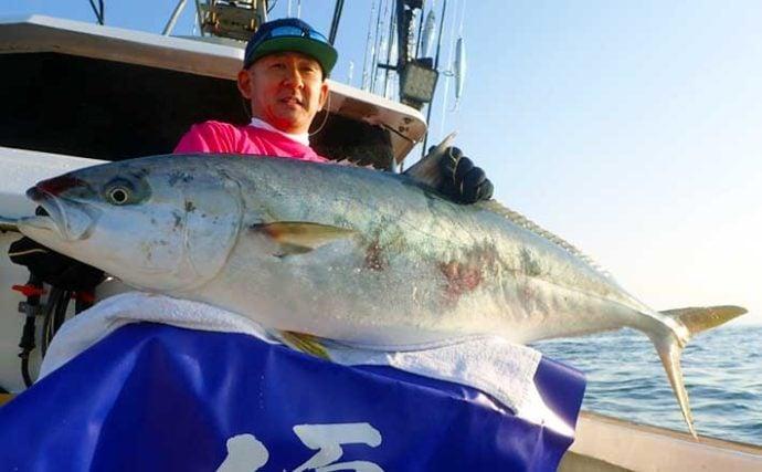 【福岡】沖のルアー釣り最新釣果 ド迫力17kg級『特大』ヒラマサ浮上