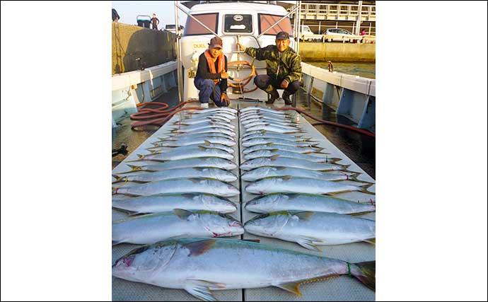 【玄界灘】落とし込み釣り最新釣果 8.5kg筆頭に大型マダイ続々