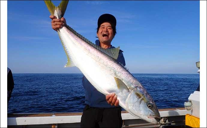【福岡】オフショアルアー最新釣果 タイラバ&ジギングでタカバに真鯛