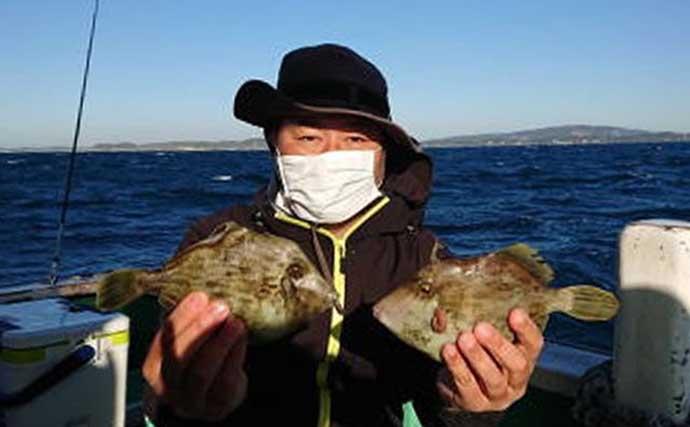 週末ナニ釣れた?沖釣り速報:旬の『カワハギ』が良型揃い【東京・神奈川】