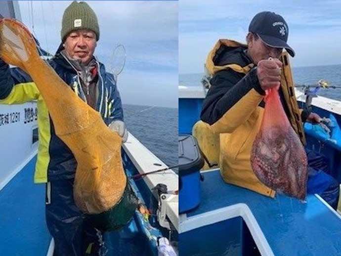 今日ナニ釣れた?沖釣り速報:鹿島沖『マダコ&ヒラメ』絶好調【茨城】