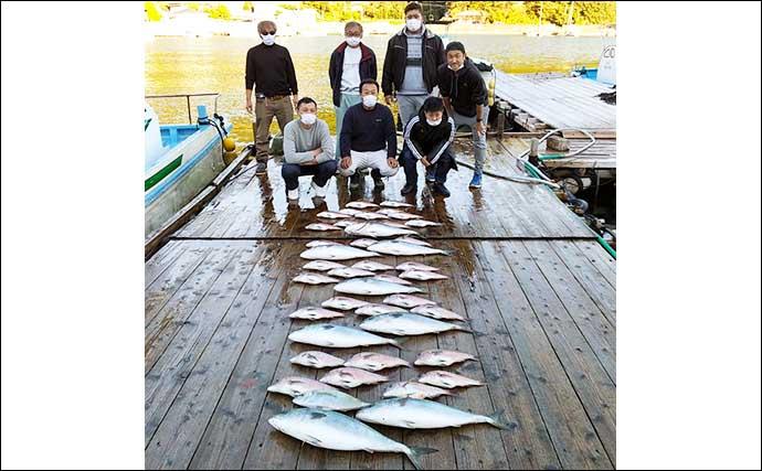 【三重・福井】海上釣り堀最新釣果 『ブランドマダイ』含み高級魚続々