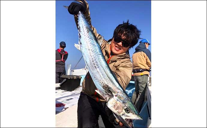 【愛知】オフショアルアー最新釣果 ジギングで珍ゲスト『ニベ』浮上