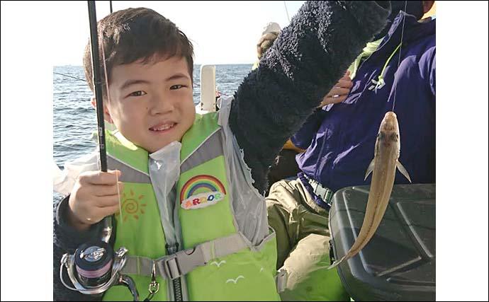【東京湾2020】冬の船シロギス釣り解説 寒い時期は脂のって食味アップ
