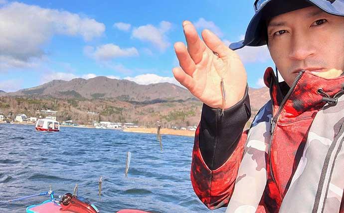 山中湖マイクロサイズ「ワカサギ」攻略法4選 537尾で竿頭【丸一荘】