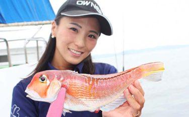 初心者でも憧れの『高級魚』が釣れる 相模湾アマダイ釣りのススメ