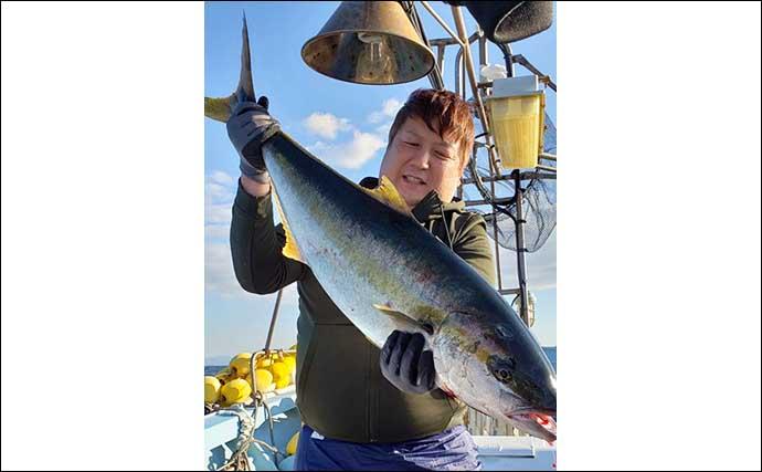 【玄界灘】落とし込み釣り最新釣果 ヒラマサ&ブリ『数釣り』好機到来