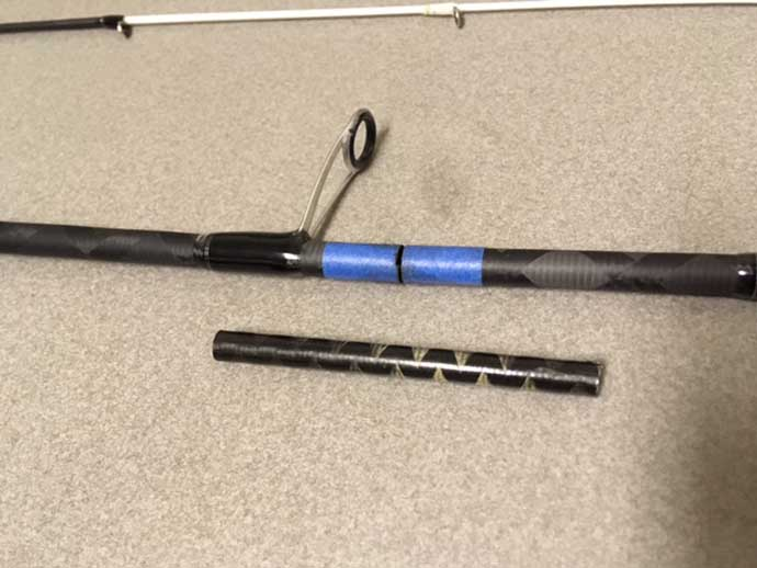折れたロッドを自分で直す方法  UVレジン活用で時短修理が可能に