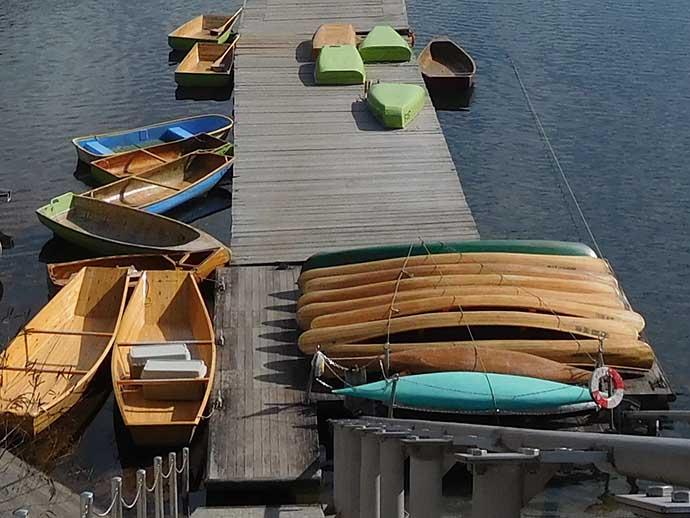 『カヌー』でワカサギ釣り 水深25mの拾い釣りで142尾【埼玉・名栗湖】