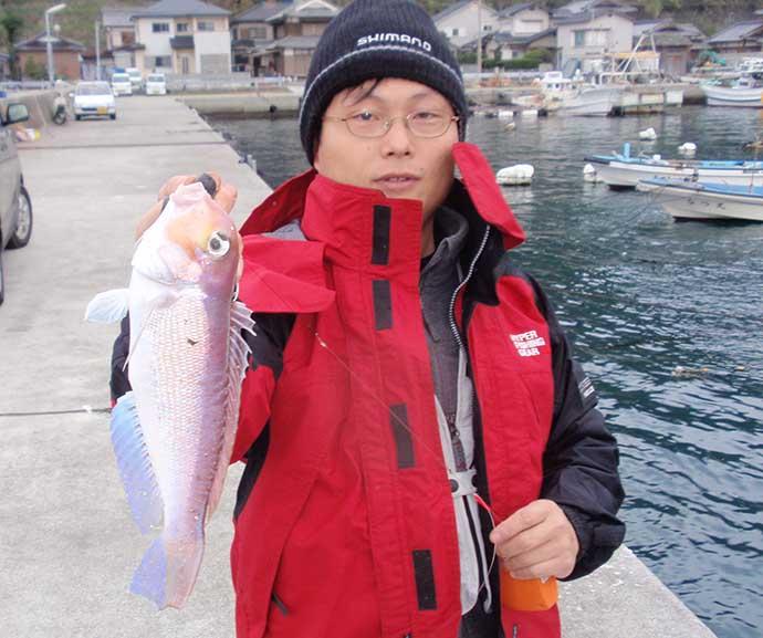 実は「投げ釣り」でも狙える高級魚アマダイ 12月は西日本で実績アリ