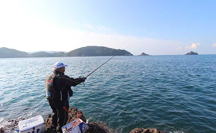 【大引2020初冬】磯グレフカセ釣りステップアップ 本流筋の攻略法