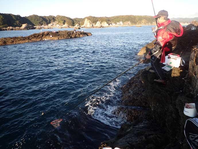 【和歌山2020】出雲崎の磯グレ「フカセ釣り」攻略 初冬は浅ダナ狙い?
