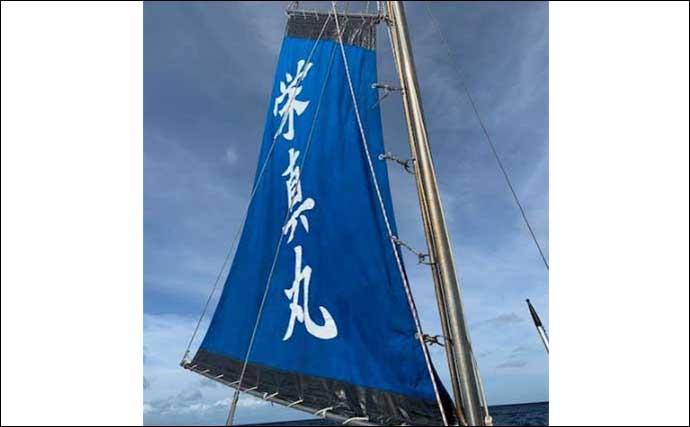 宮古島の『キハダマグロ』乗合釣行 パラシュート仕掛けで45㎏【栄真丸】