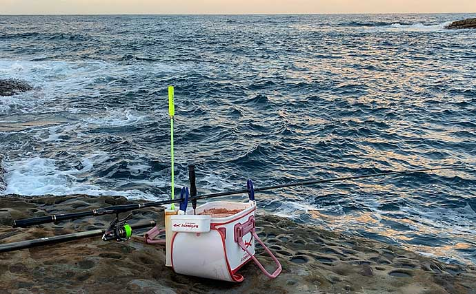磯フカセ釣りで37cm頭にグレ5匹 コッパの猛攻耐え好転【和歌山】