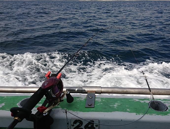 相模湾『アマダイ』釣りで本命4尾 釣れたゲストからタナ判断【与宗丸】
