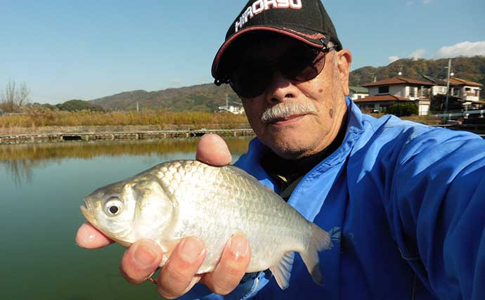 冬の管理池でヘラ釣り 釣果の決め手はエサ調合にあり【竜田川釣り池】