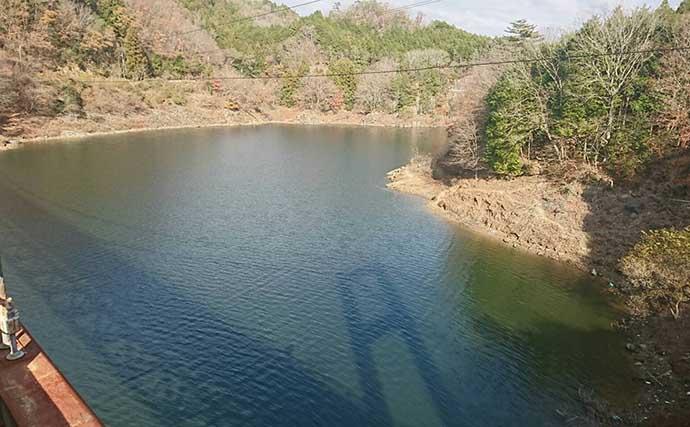 室生ダムのヘラブナ攻略法 冬は「芯残るバラケ」で大型に照準【奈良】
