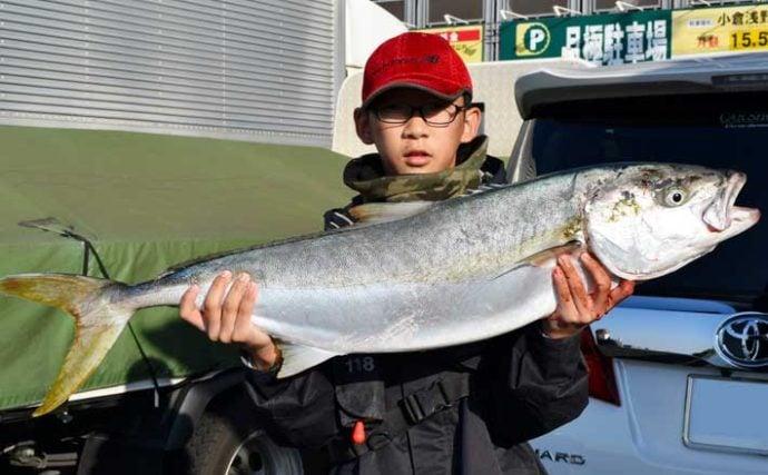 【福岡】沖のエサ釣り最新釣果 落とし込み&泳がせ釣りで好釣果続々