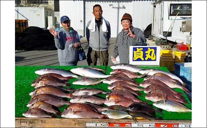 【三重・愛知】海上釣り堀最新釣果情報 70cm超え含む「大ダイ」顔出し