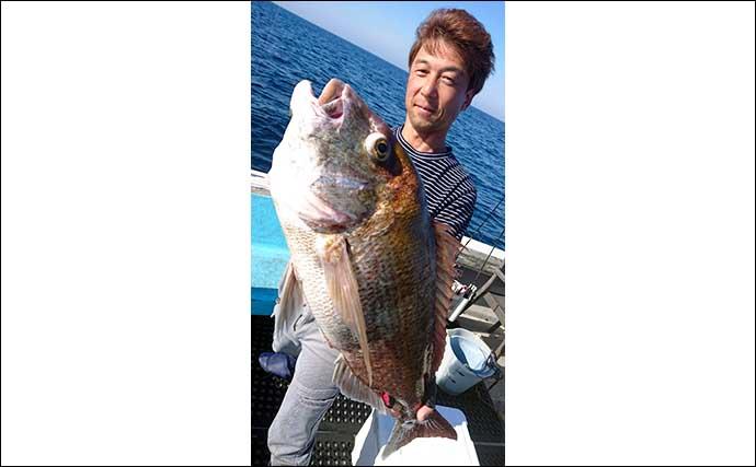 【福井・石川】沖のルアー最新釣果 タイラバで81cmモンスターマダイ