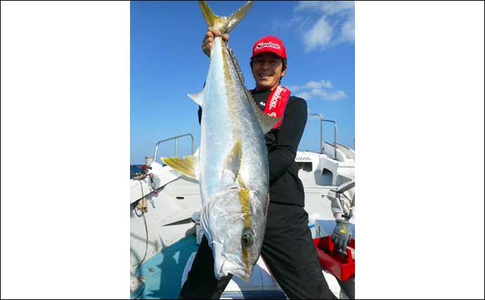 「落とし込み」釣りが最盛期突入 クエにメーター超ヒラマサ【星龍丸】