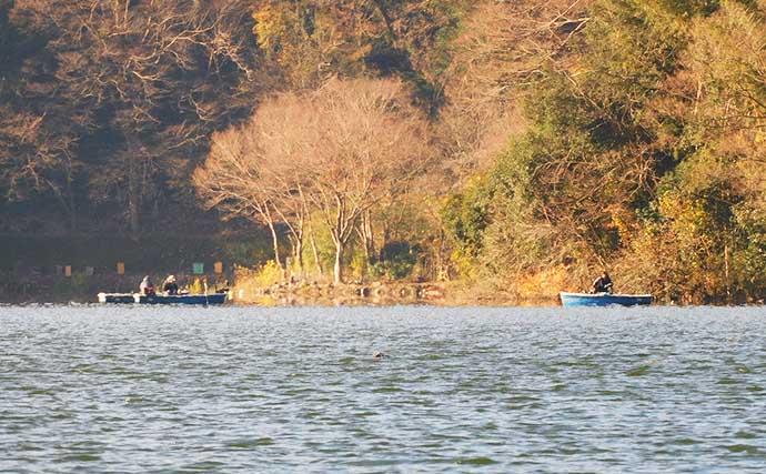 ボートワカサギ釣りで「1002尾」 数&型ともに大満足【津久井湖】