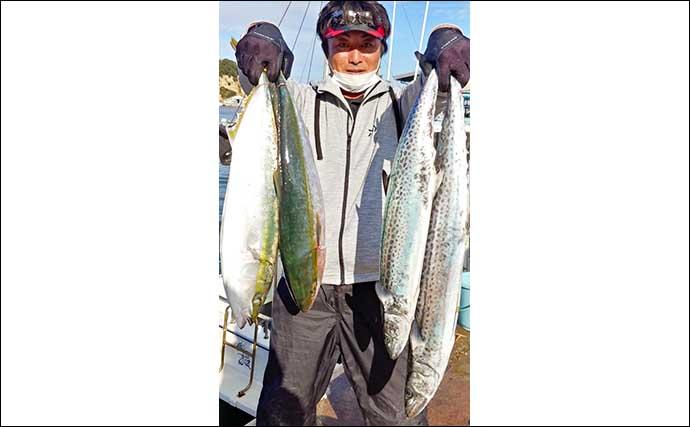 【三重・愛知】沖のルアー釣り最新釣果 伊勢湾ジギングで青物チャンス