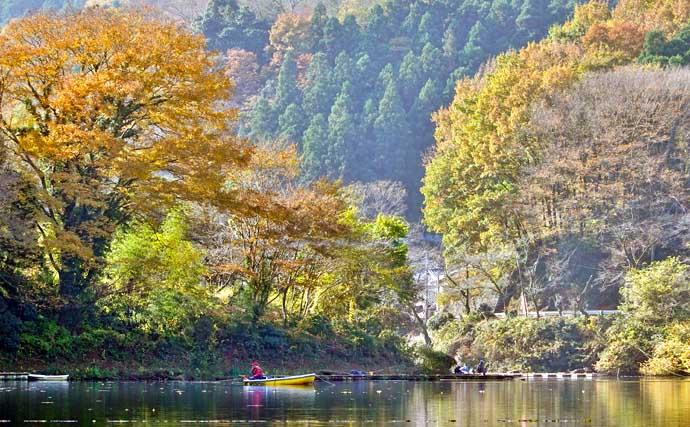 今週のヘラブナ推薦釣り場【埼玉県・間瀬湖】