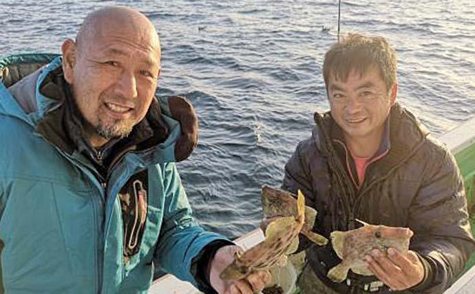 【関東2020冬】船カワハギ初心者入門 タックル・釣り方・オススメ船宿