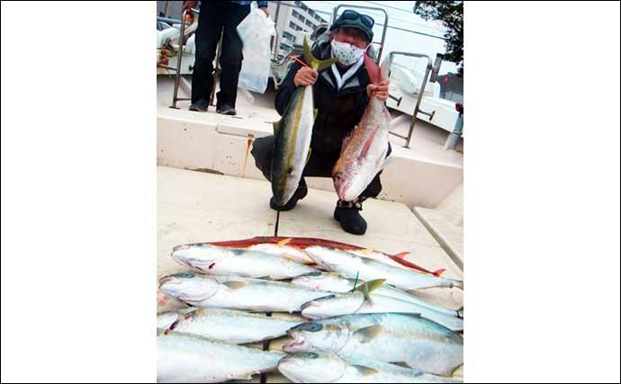 【玄界灘】落とし込み釣り最新釣果 船中ヒラマサ『85尾』の数釣りも