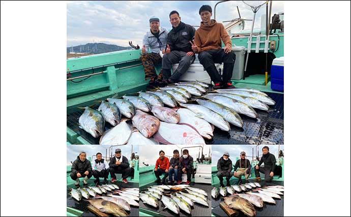 【響灘】落とし込み釣り最新釣果 ヒラマサ&ヒラメが好調継続