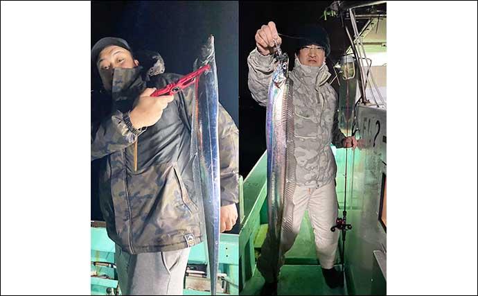 【福岡】沖のエサ釣り最新釣果 好調の「アジ泳がせ」で4kg級アラ