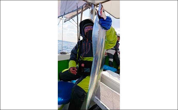 【大分・熊本】沖釣り最新釣果 指幅6本以上「ドラゴン」タチウオ好機