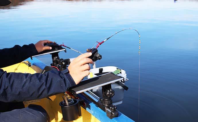 ワカサギ釣りの「仕掛け」ローテーション術 メーカースタッフが解説