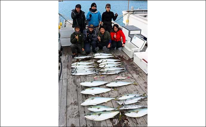 【伊勢湾2020】冬の『青物ジギング』入門 船宿探し・タックル・釣り方