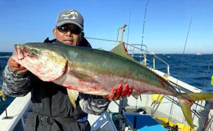 【愛知・静岡】沖のルアー最新釣果 ジギング&タイラバで大型マダイ続々