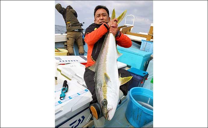 【響灘】落とし込み釣り最新釣果 高級魚「アラ」含め好土産に期待大