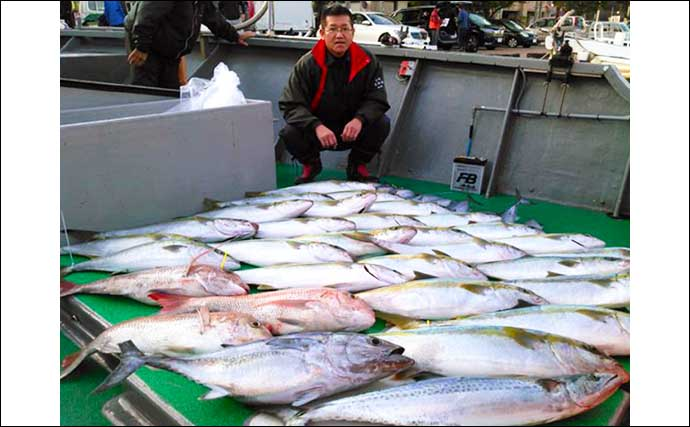 【玄界灘】落とし込み釣り最新釣果 ヒラマサ・マダイ・カツオにアラも