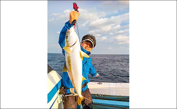 落とし込み釣りで6kg級ヒラマサ&メーター級サワラ【山口・英光】