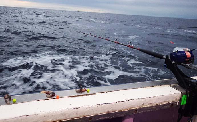 北茨城沖でアカムツ釣り 本命苦戦も1.6kgマゾイ【第十五隆栄丸】