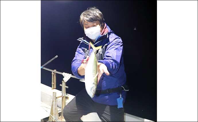 深場『バチコンアジング』で40cm級「大アジ」連発【フィッシング光栄】