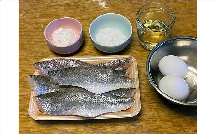 自分で釣ったサカナでおせち料理を作ろう:「イシモチ」のかまぼこ