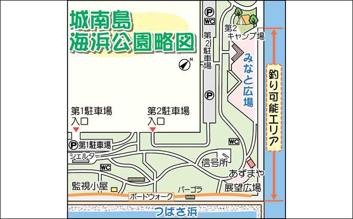 釣具店が勧める陸っぱり釣り場:城南島海浜公園【東京・大倉屋】
