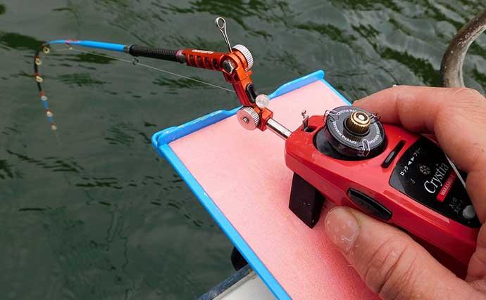 津久井湖で「ボートワカサギ」快釣 底釣り中心に467尾【沼本ボート】