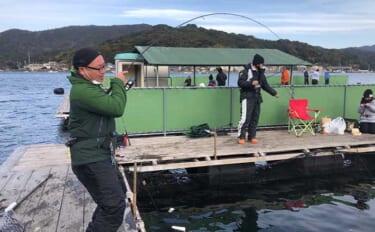 「海上釣り堀」初体験でマダイ&ワラサ 初心者でも手軽に高級魚ゲット