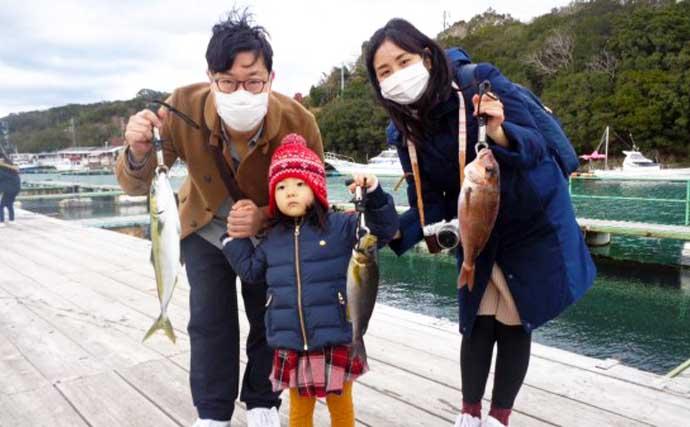 【愛知・三重】海上釣り堀最終釣果 10kg級『大ブリ』筆頭に好土産続々