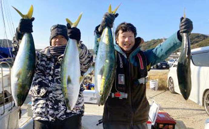 【三重・愛知】オフショアルアー最新釣果 伊勢湾ジギングで青物絶好調
