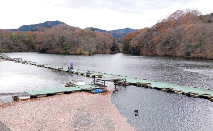 今週のヘラブナ推薦釣り場【群馬県・三名湖】