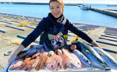 タイ五目で「おめで鯛」狙い イナワラ&イサキも登場で満足【千葉】